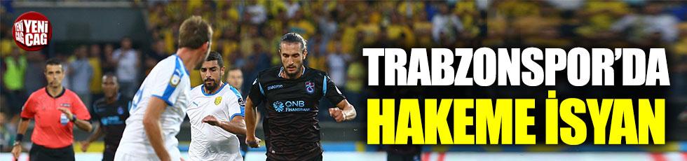 Trabzonspor'da hakeme isyan