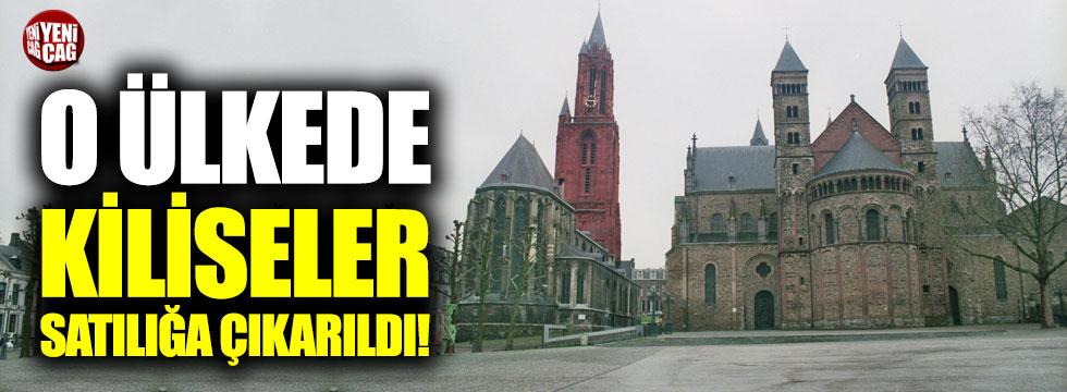 O ülkede kiliseler satılığa çıkarıldı!