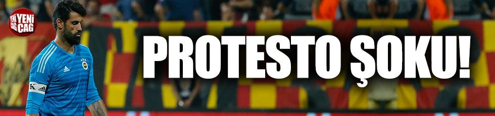 Volkan Demirel'e protesto şoku