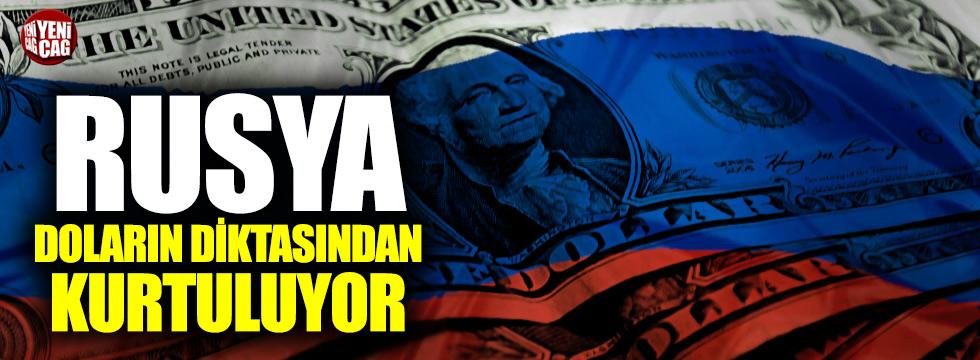 Rusya doların diktasından kurtuluyor