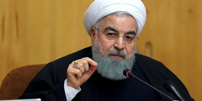 "Ruhani'den Trump'a: ""Sonu Saddam gibi olacak"""