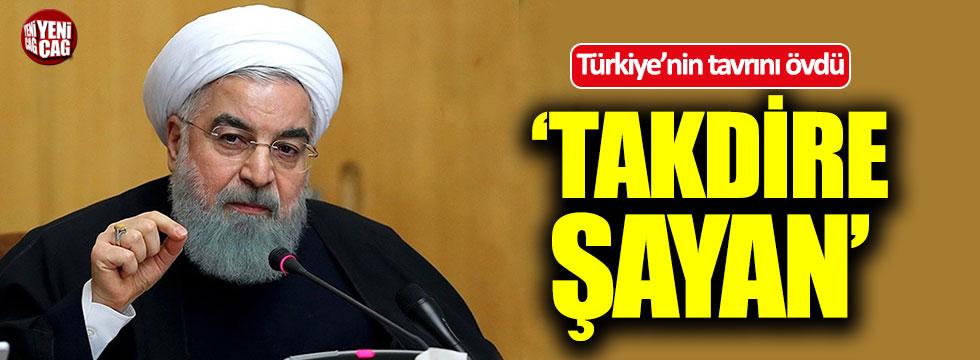 Ruhani'den Türkiye'ye övgü: Takdire şayan