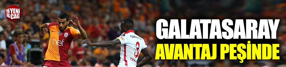 Galatasaray avantaj peşinde