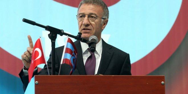 Trabzonspor Başkanı Ağaoğlu'ndan Burak açıklaması