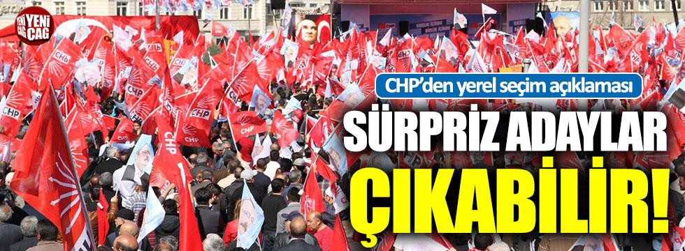 CHP'den yerel seçim açıklaması