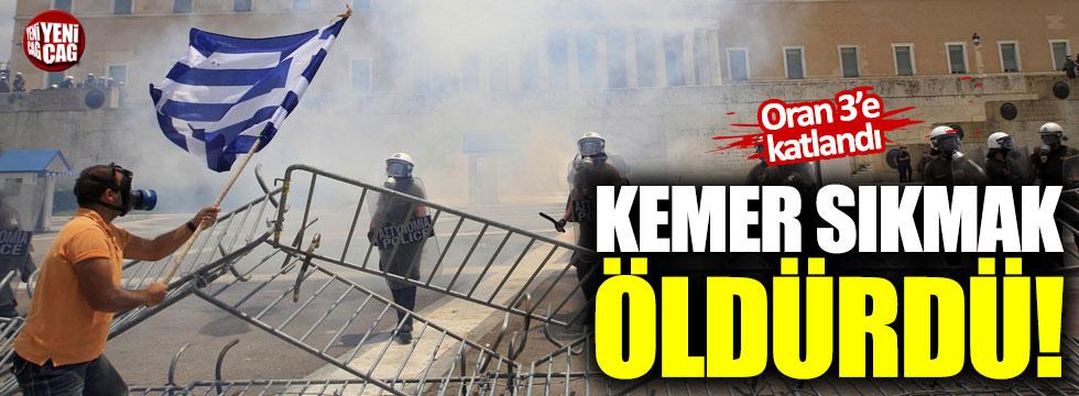Yunanistan'da kemer sıkma politikası, ölümleri 3'e katladı