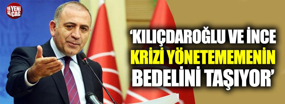 CHP'li Tekin'den Kılıçdaroğlu ve İnce'ye eleştiri