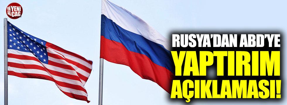 Rusya'dan ABD'ye yaptırım açıklaması