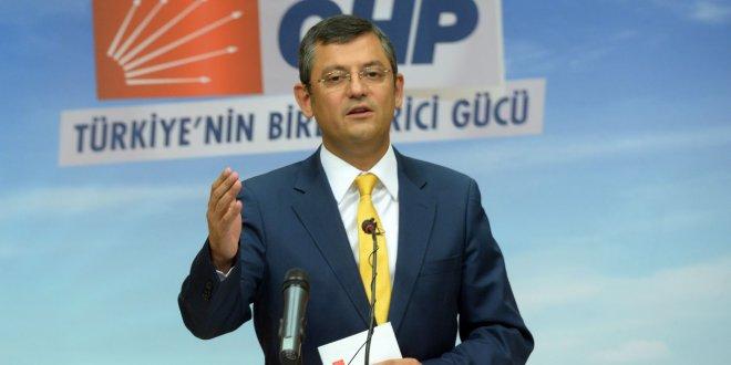 CHP'li Özel'den 'af' açıklaması