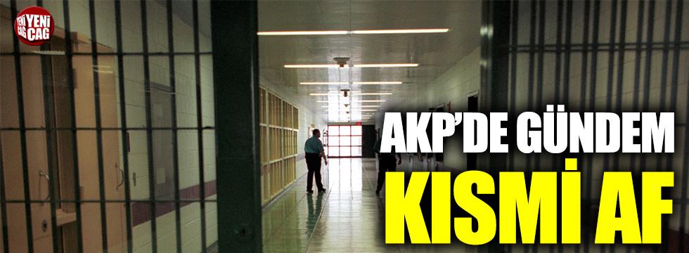 AKP'de gündem kısmi af