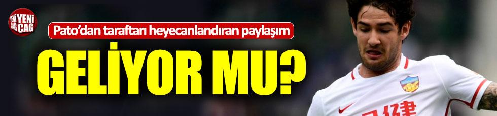 Alexandre Pato Galatasaray taraftarını heyecanlandırdı