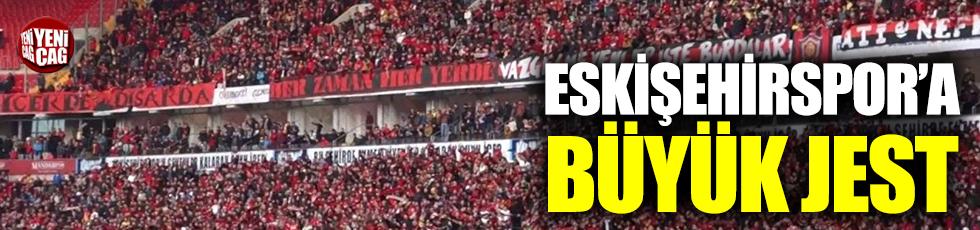 Eskişehirspor'dan Ertuğrul Sağlam'a teşekkür