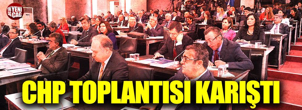 CHP PM toplantısında gerginlik