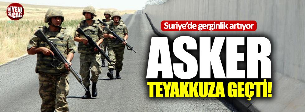 TSK İdlib için teyakkuzda