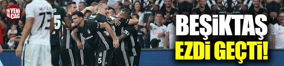 Beşiktaş Partizan'ı rahat geçti