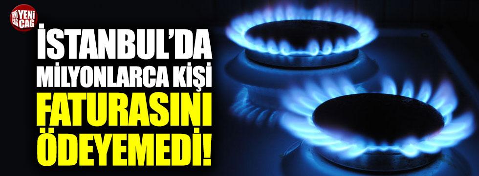İstanbul'da milyonlarca kişi faturasını ödeyemedi!