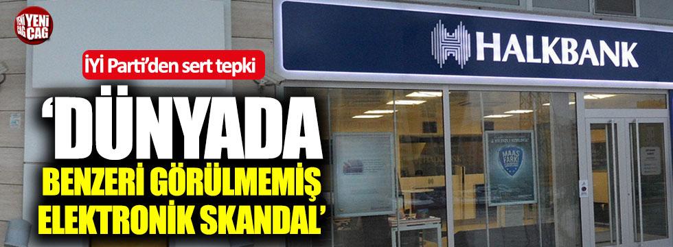 """İYİ Parti: """"Dünyada benzeri görülmemiş elektronik skandal..."""""""