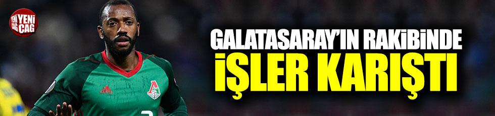 Galatasaray'ın rakibinde işler karıştı