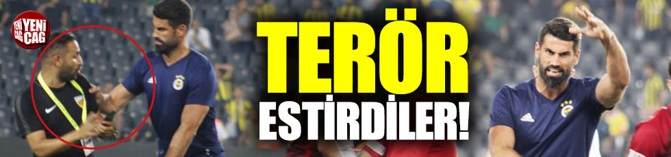 Maçın ardından Volkan ve Alper'den skandal