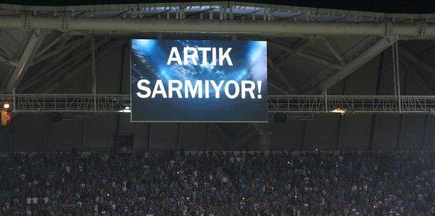 """Trabzonspor'dan """"Artık sarmıyor"""" açıklaması"""