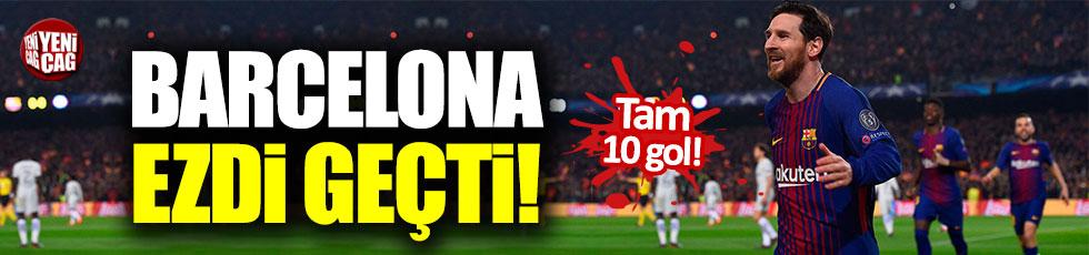 Barcelona Huesca'yı 8-2'lik skorla geçti