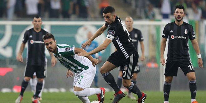 Bursaspor-Beşiktaş 1-1 (Maç özeti)
