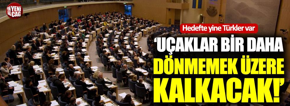 """İsveç'te skandal vaat: """"Türkiye'ye gidecek uçaklar..."""""""