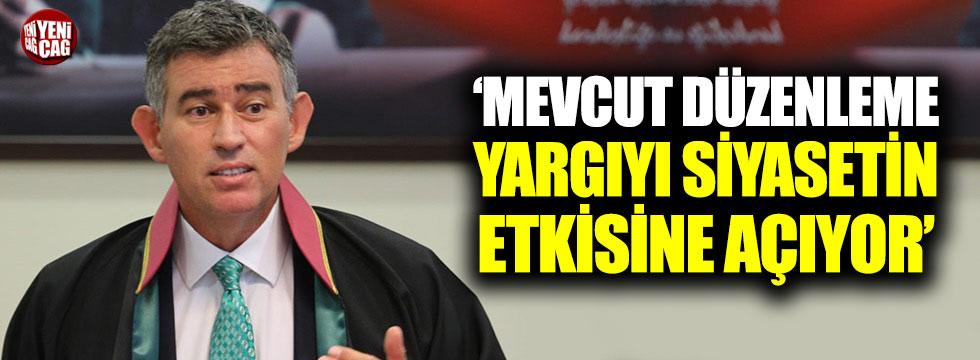 """Feyzioğlu: """"Mevcut düzenleme yargıyı siyasetin etkisine açıyor"""""""