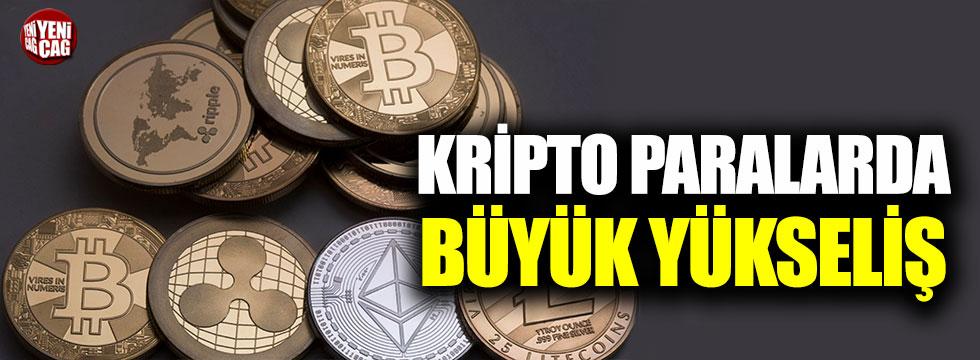 Kripto paralarda büyük yükseliş