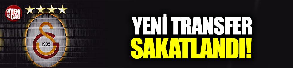 Galatasaray'da Ömer Bayram sakatlandı