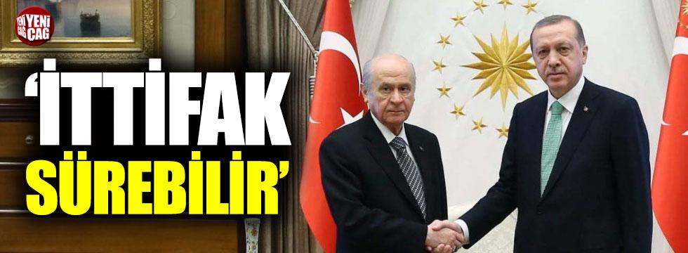 AKP'den MHP ile ittifak açıklaması