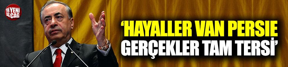 Mustafa Cengiz: Hayaller Van Persie gerçekler tam tersi