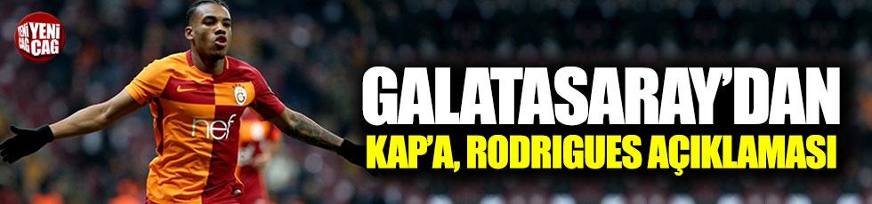 Galatasaray'dan KAP'a Rodrigues açıklaması