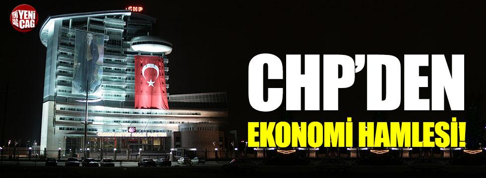 CHP'den ekonomi hamlesi!