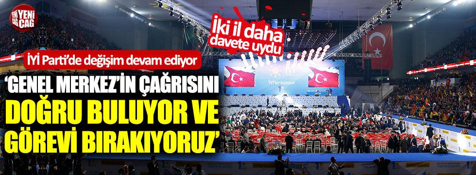 İYİ Parti il yönetimleri böyle istifa etti!