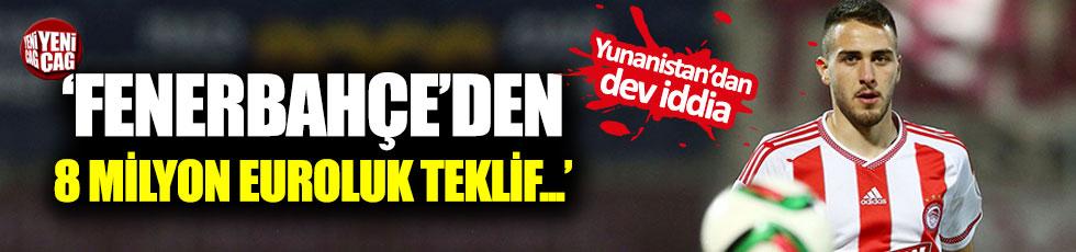 """Fenerbahçe 8 milyon euro teklif etti"""