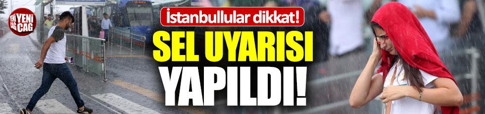 İstanbul hava durumu: Sağanak yağış uyarısı