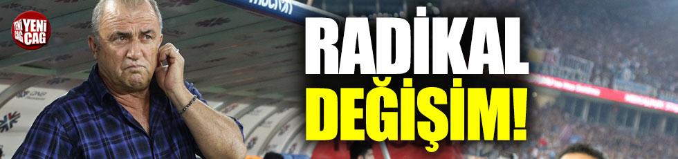 Galatasaray'da radikal değişim