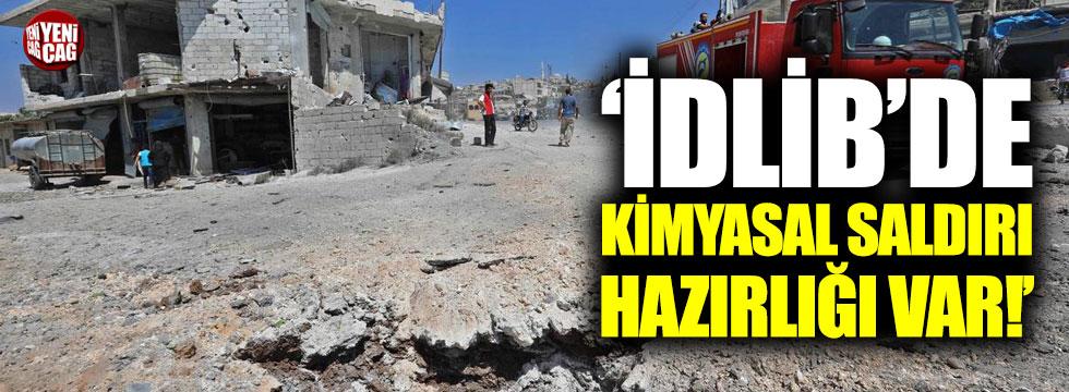 """""""İdlib'te kimyasal saldırı hazırlığı var"""""""