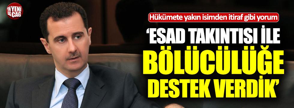 """Sabah yazarı: """"Suriye'de bölücülüğe destek verdik"""""""