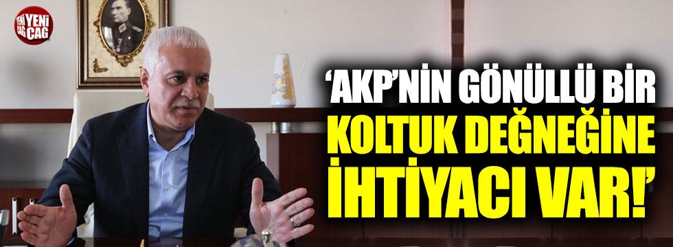 """Koray Aydın: """"AKP'nin gönüllü bir koltuk değneğine ihtiyacı var"""""""