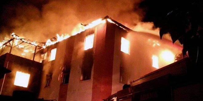 Aladağ'daki yangın faciasında tutuklu kalmadı