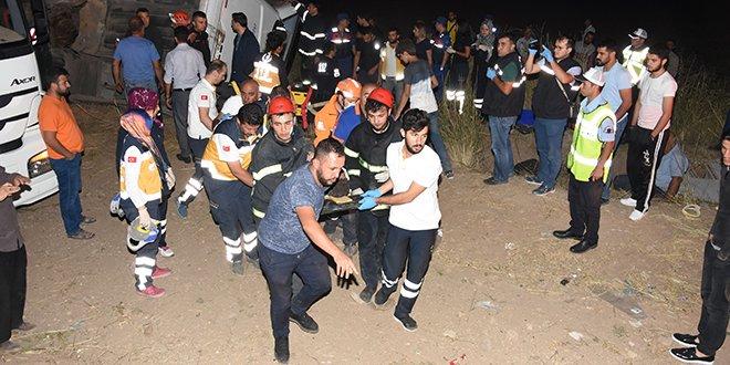 Aksaray'da feci kaza: 6 ölü