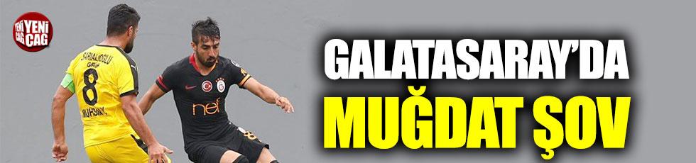 Galatasaray Muğdat ile coştu