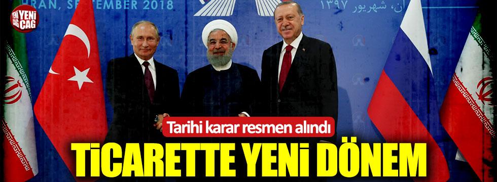 Türkiye, Rusya ve İran arasında tarihi karar