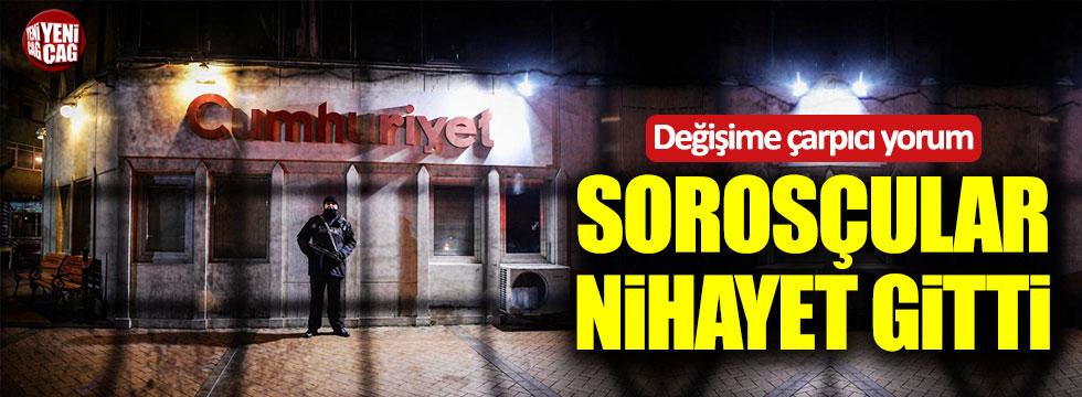 """Rıza Zelyut: """"Soros ekibi nihayet Cumhuriyet'ten gitti"""""""