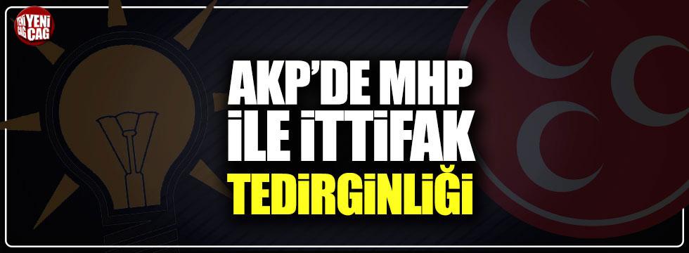 AKP'de MHP ile ittifak tedirginliği