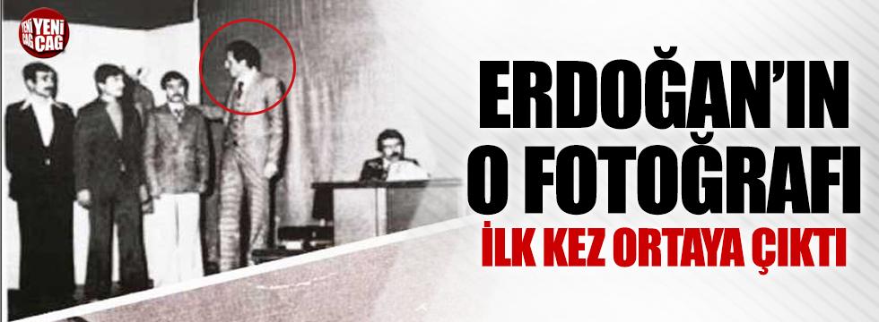 Erdoğan'ın o fotoğrafı ilk kez ortaya çıktı