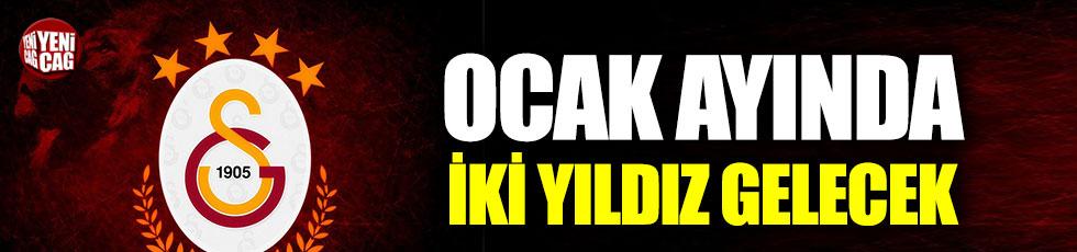 Galatasaray'da çifte transfer harekâtı