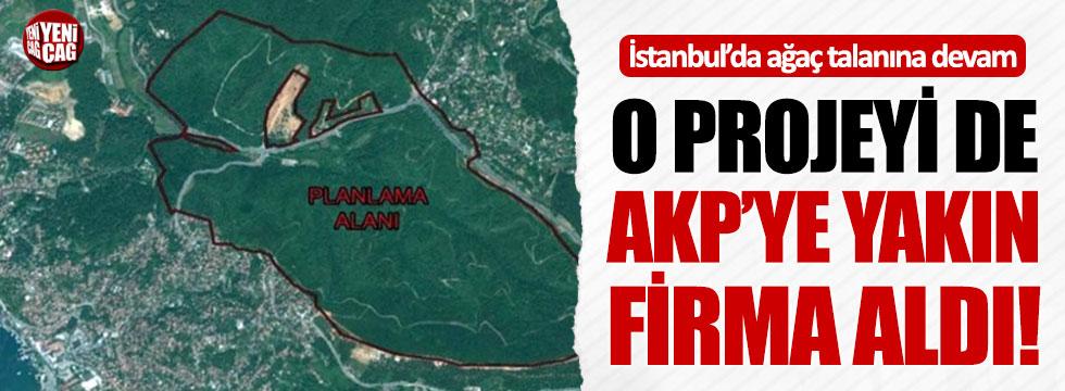 O projeyi de AKP'ye yakın firma aldı!